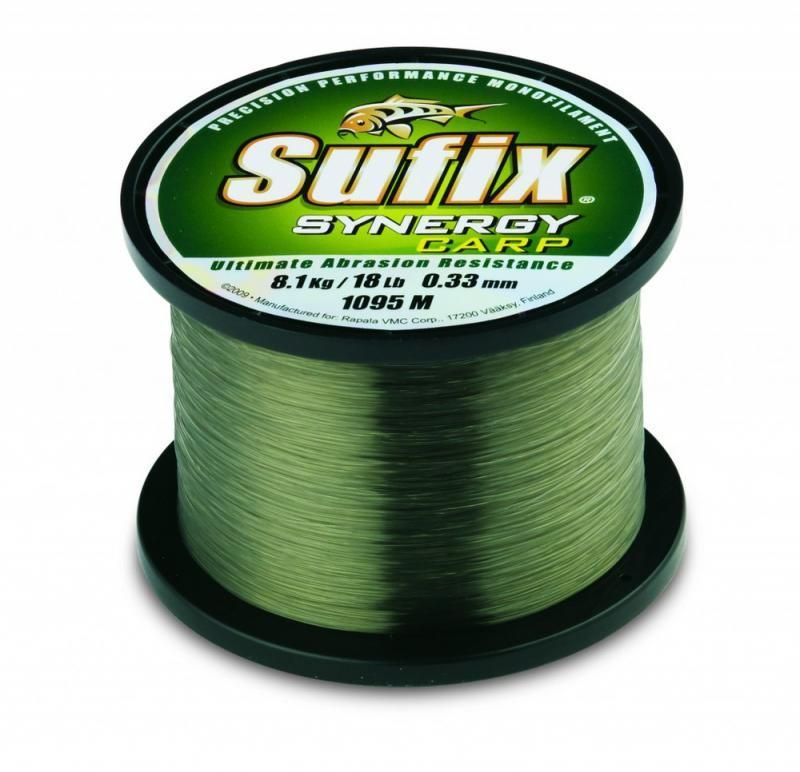 Shimano sufix synergy green carp fishing mono filament for Sufix fishing line