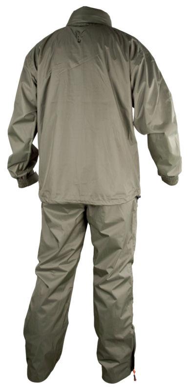 Fox new carp fishing lightweight rain suit all sizes ebay for Rain suits for fishing