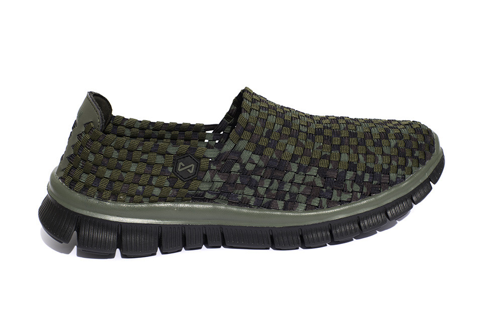 Navitas Apparel Mens Carp Fishing Camo Weave Slip On Bivvy